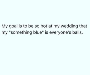 balls, blue, and wedding image