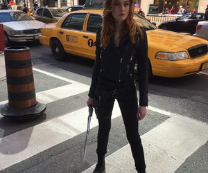 clary fray, shadowhunters, and jace herondale image
