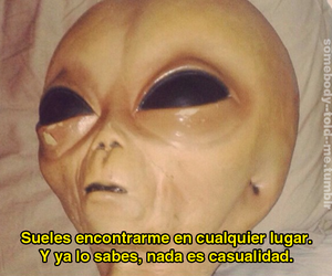 alien, frases, and texto image