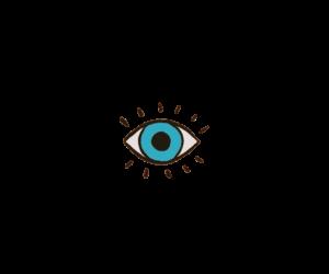 overlay, png, and ojo image