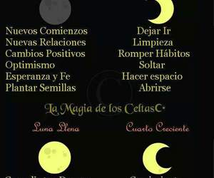 luna, fases, and witch image