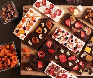 chocolate, fruit, and sweet image