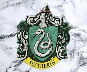 harrypotter, slytherin, and tumblr image