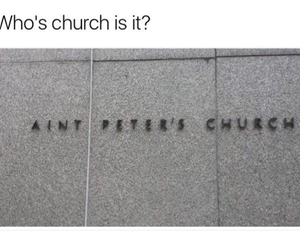 church, funny picture, and funny pictures image