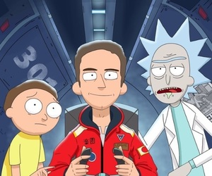 logic, pickle, and rick and morty image