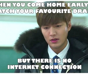 kdrama, lmh, and no wifi image