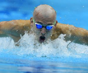 hungarian, swimmer, and cseh laci image