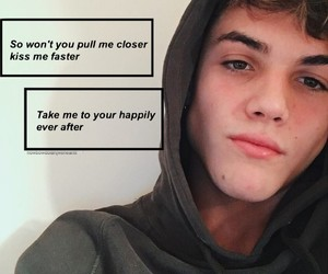 aesthetic, quotes, and grayson dolan image