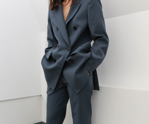fashion, minimalist, and suit image