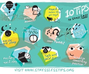 mental health, stress, and positivity image