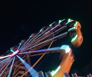attraction, fun, and night image