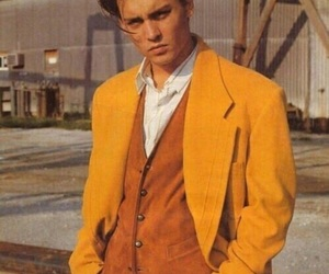 johnny depp and yellow image