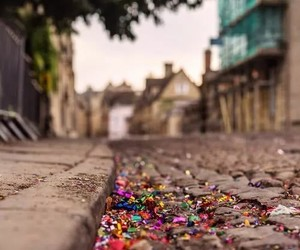 colors, glitter, and street image