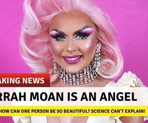 drag queen, drag race, and farrah image