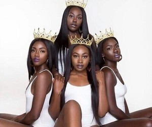 melanin, beautiful, and queens image