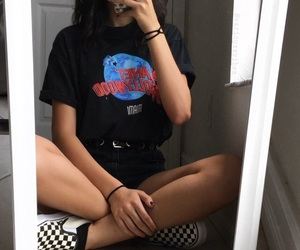 aesthetic, clothes, and grunge image