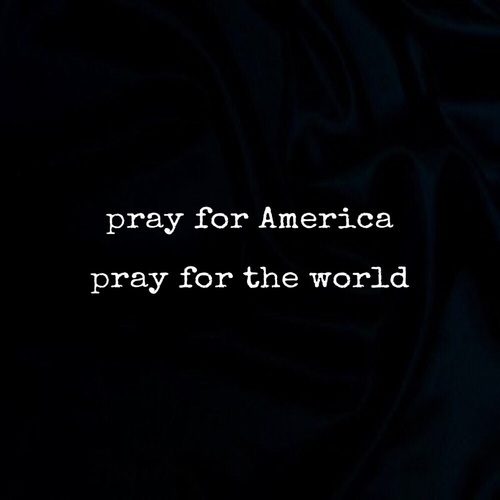 pray, trump, and usa image