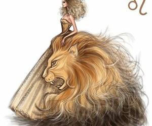 Leo, zodiac, and art image