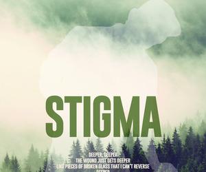 v, stigma, and bts image