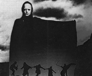 b&w, the seventh seal, and movie image