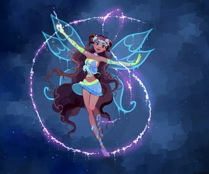 winx club, aisha, and art image