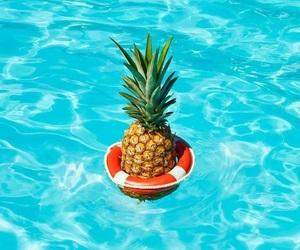 bikini, hawaii, and pool image
