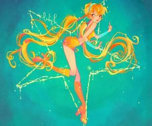 art, stella, and winx club image