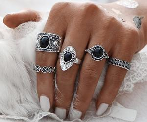 rings, ring, and fashion rings image