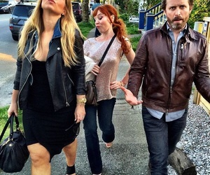 supernatural, rob benedict, and ruth connell image