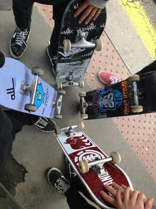 skate, skateboard, and theme image