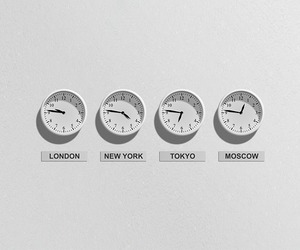 time, white, and clocks image