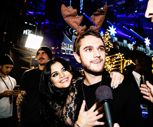 selena gomez, zedd, and zeddlena image