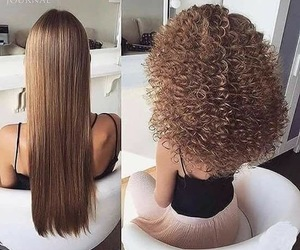 hair, hairstyle, and straight image