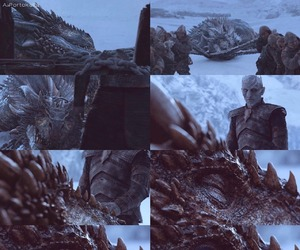 game of thrones and viserion image