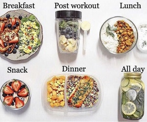 food, healthy, and sport image