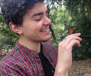 butterfly, guy, and the fosters image