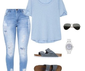 blue, clothes, and school image