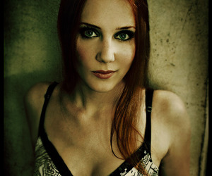 dark, singer, and Epica image