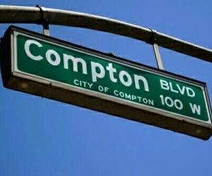 blue, compton, and ghetto image