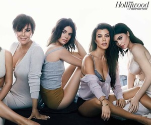 kourtney kardashian, kendall jenner, and kylie jenner image