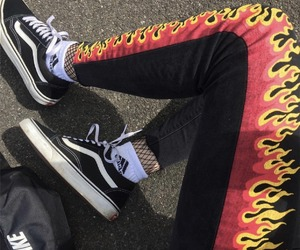 grunge, vans, and fashion image