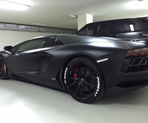 car, Lamborghini, and black image