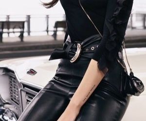 accessories, bags, and black clothes image