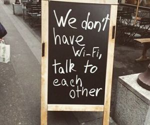 wifi, talk, and friends image