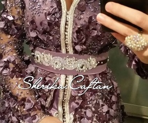 mariage, violet, and caftan image