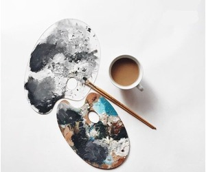 coffee and paint image