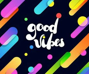 colors, vibes, and good vibes image