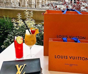 girl, italy, and Louis Vuitton image