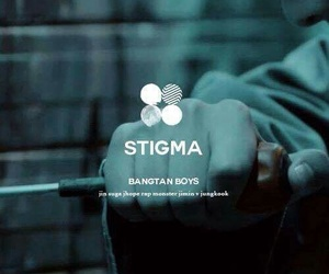 bts, stigma, and v image