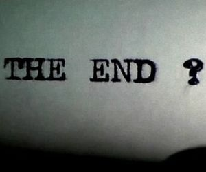the end, end, and quotes image